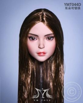 Elf 2.0 Head - light-brown Hair - 2 pairs of ears