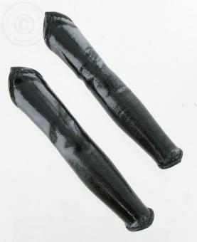1 Paar schwarze Armstulpen