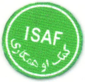 ISAF Abzeichen - grün