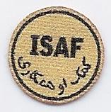 ISAF Abzeichen - sand