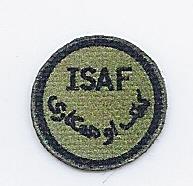 ISAF Abzeichen - oliv-grün
