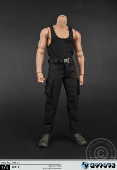 Male Black Outfit Set