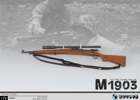 M1903 USMC Sniper Rifle