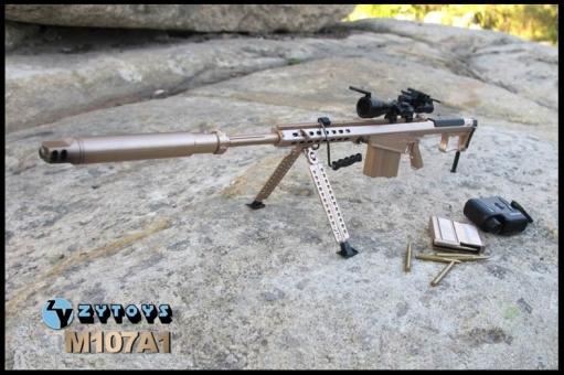 M107A1 Sniper Rifle - w/Muffler