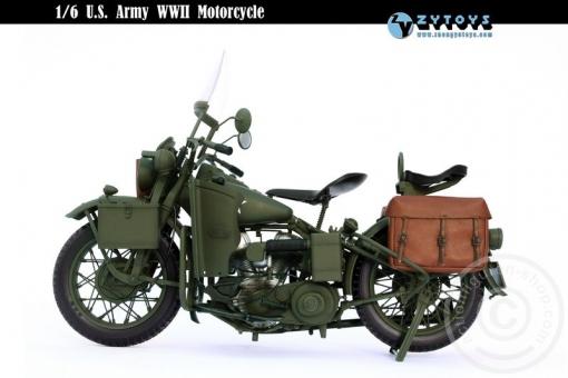 U.S. WW-II Military Harley Motorcycle
