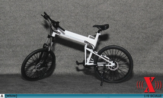 MTB Fahrrad - weiß