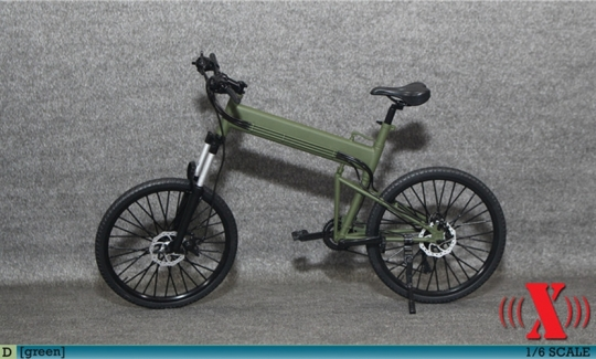MTB Fahrrad - grün