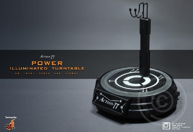 Action-TT Illuminated Turntable
