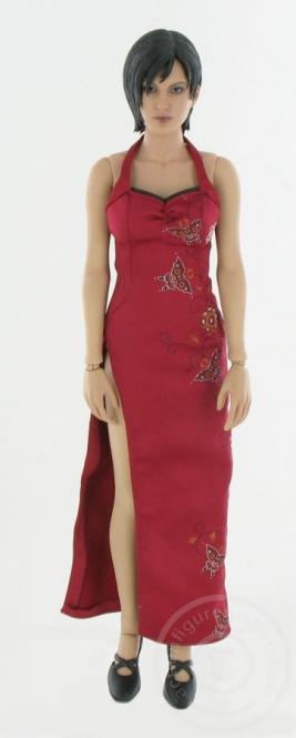 Softskin-Body mit Kopf und Kleid