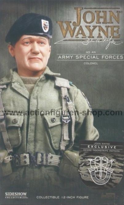 John Wayne - NAM Tigerstripe Pattern