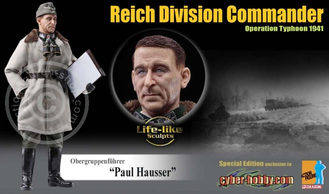 Paul Hausser - Obergruppenführer - Exclusive