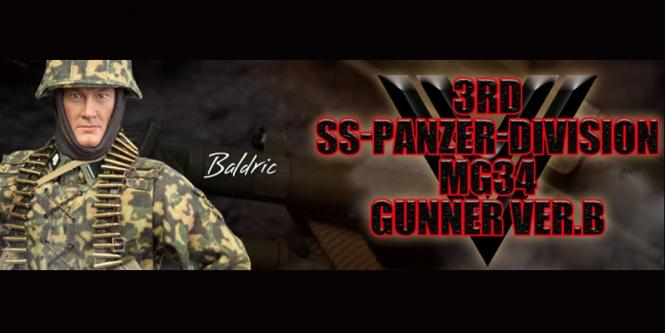 Baldric - 3. SS-Panzer-Division MG34 Gunner