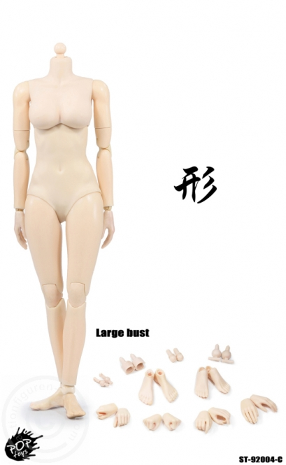 Super Flexible Female Body - Pale - C