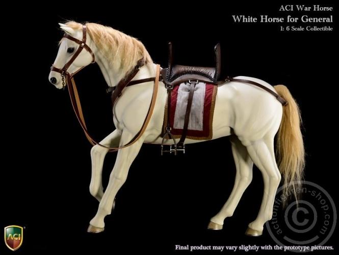 Pferd - Weiß - Kreuzritter Balian