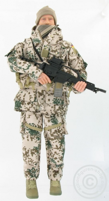 Bundeswehrsoldat Wüsten-Tarn - lim. Edition C
