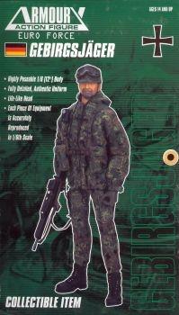 Deutscher Gebirgsjäger der Bundeswehr