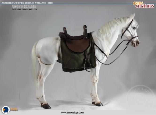 Pferd - weiß