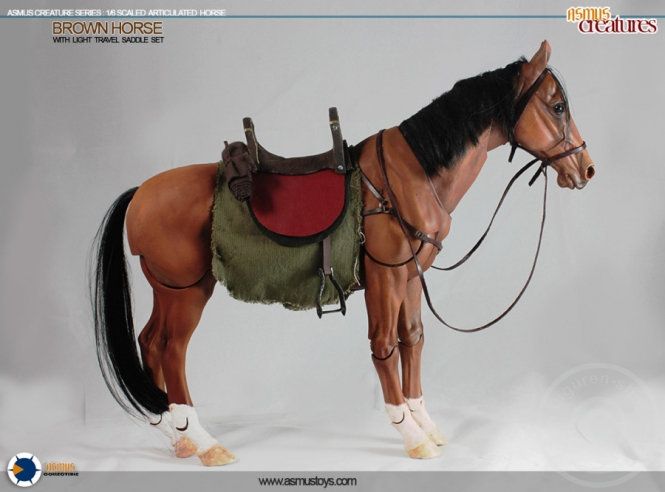 Pferd - braun