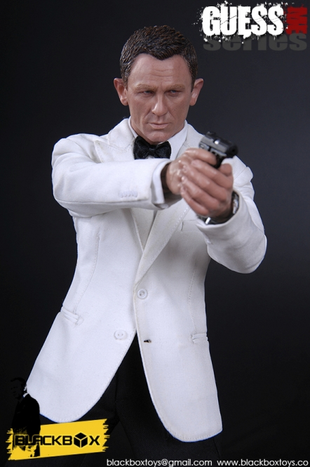 Agent James - Version C (white)