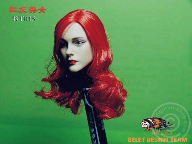 Red Haired Beauty Head
