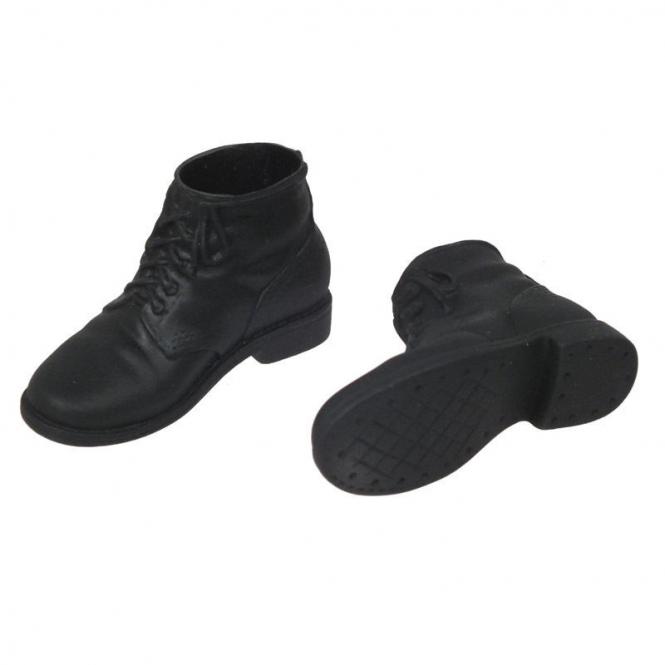 Boots, schwarz