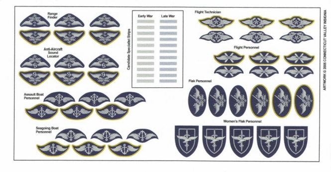 Luftwaffe - Trade + Specialist Badges