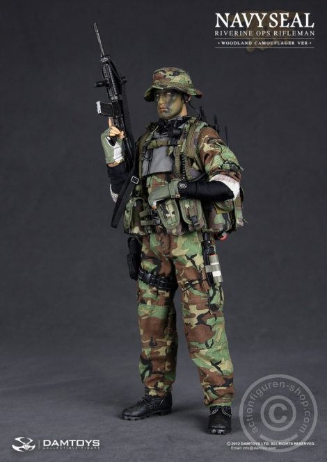 Navy Seal Riverine OPS Rifleman - Woodland