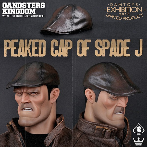 Gangster  Kingdom - Spade J Peaked Cap - Exclusive