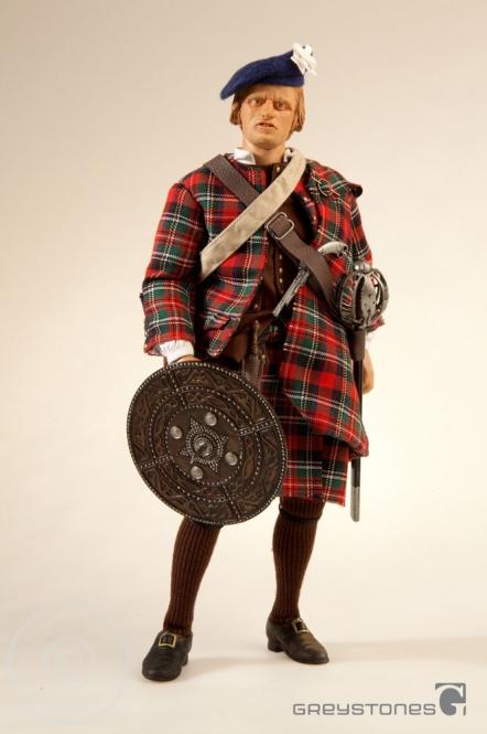 Jacobite Highlander - Niallghas