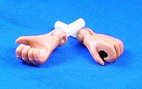 Hände für AM/AT Figuren - action
