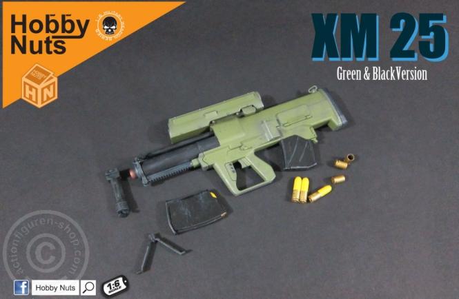 XM25 - Green-Black