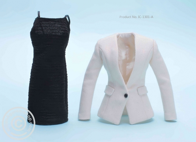 Woman Fashion Set - Beige