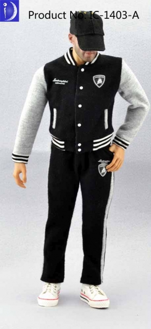Male Sport Dress Outfit Set