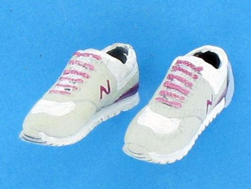 Sneaker N - grau/violett