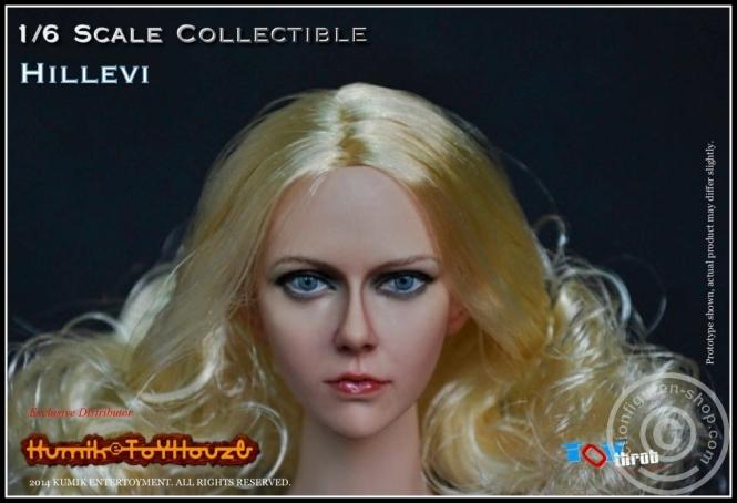Hillevi - Kopf - Blond -  KUMIK