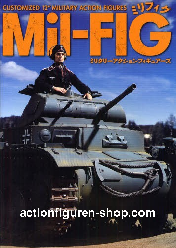 """Mil-FIG 1 - Customized 12"""" Military Action Figures"""