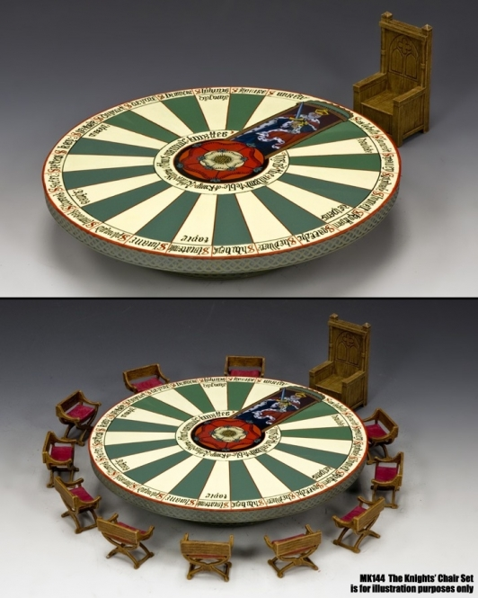 The Round Table and The Kings Chair