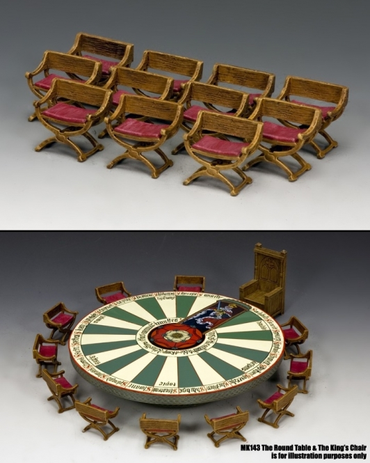 The Knights Chair Set