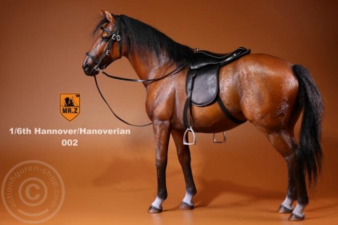Pferd - braun/schwarz