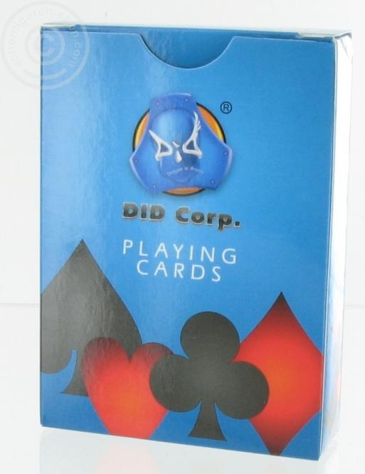 DiD - Spielkarten Set mit 54 Karten in 1:1