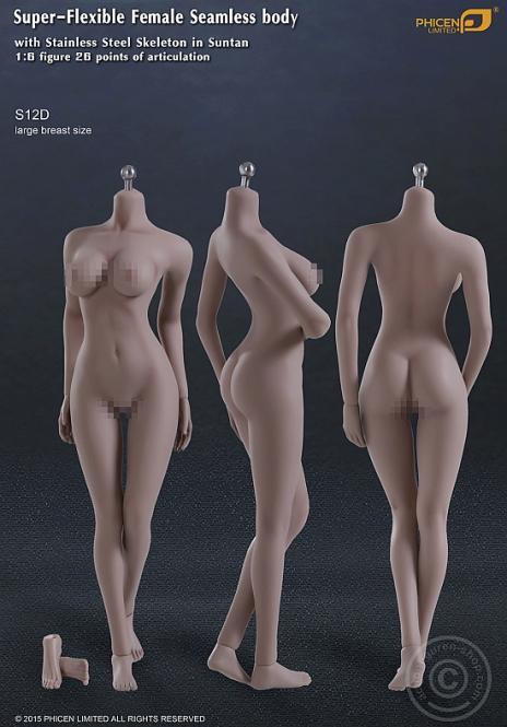 Super Flexible Seamless Body S12D