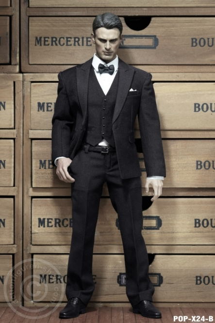 Business Suit Set - Black - Style B