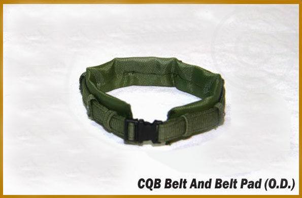 CQB Belt and Belt Pad
