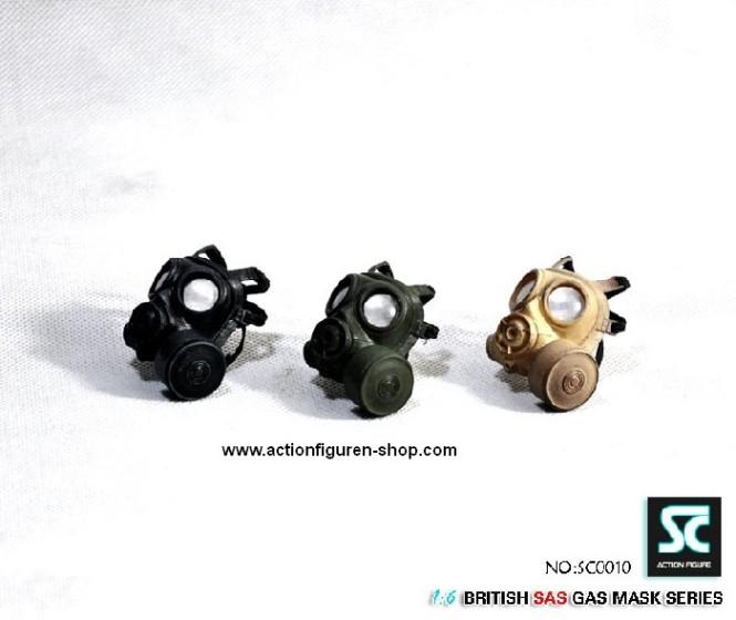 British Gas-Masken Set (3 Stück)