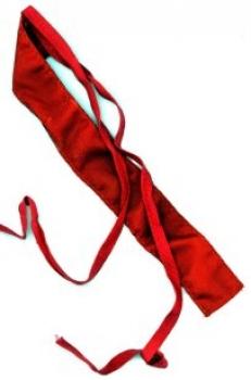 Schal, rot