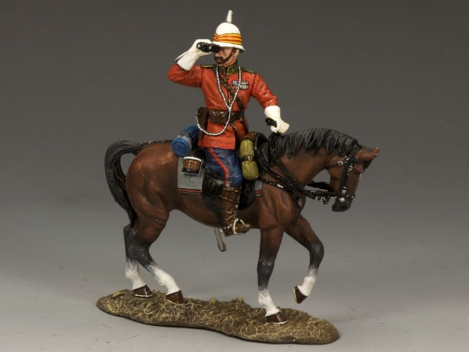 Ludhiana Sikhs Regiment MTD. British Officer
