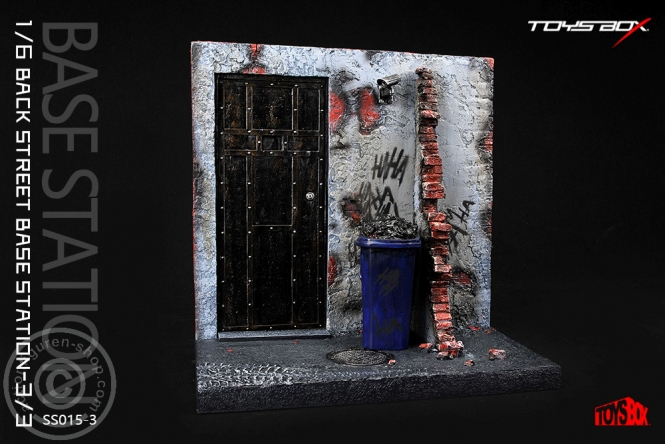 Back Street Base Station - Diorama 3