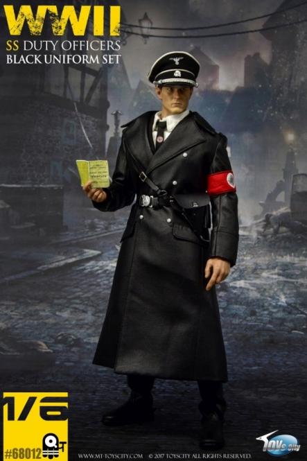 SS Officers Black Uniform Set