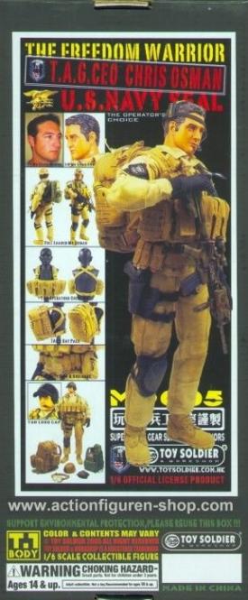 Chris Osman - U.S.Navy Seal