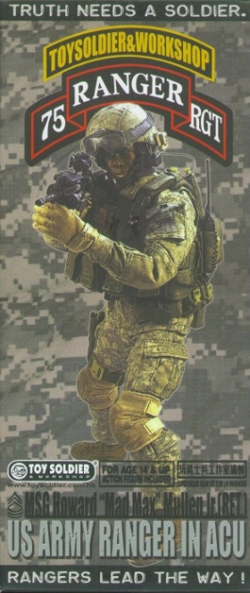 US Army Ranger in ACU, MSG H. Mad Max Mullen